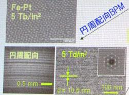 На картинке справа группа магнитных островков расположилась вокруг маркера