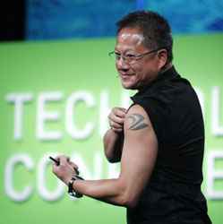 Исполнительный директор NVIDIA — Дженсен Хуанг