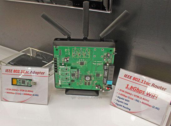 Точка доступа и USB-приёмопередатчик стандарта 5G WiFi