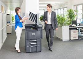 Цветные лазерные принтеры Kyocera