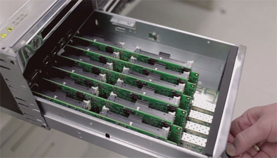 Вариант микросервера на процессорах Intel Atom
