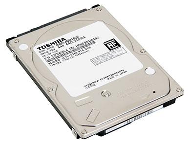 Первый гибридный жёсткий диск компании Toshiba