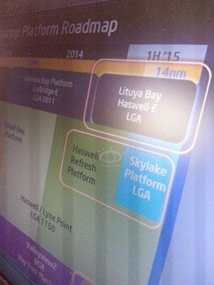 Возможные планы Intel в настольном сегменте в 2014-2015 годах