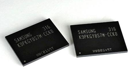 Samsung начинает производство «флэш-небоскрёбов» нового поколения