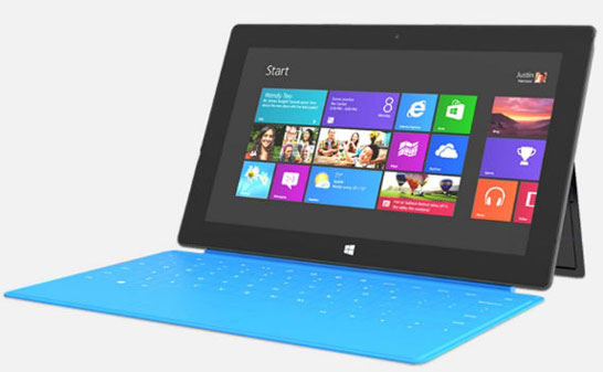 Планшет Microsoft Surface RT (платформа на основе SoC на архитектуре ARM)