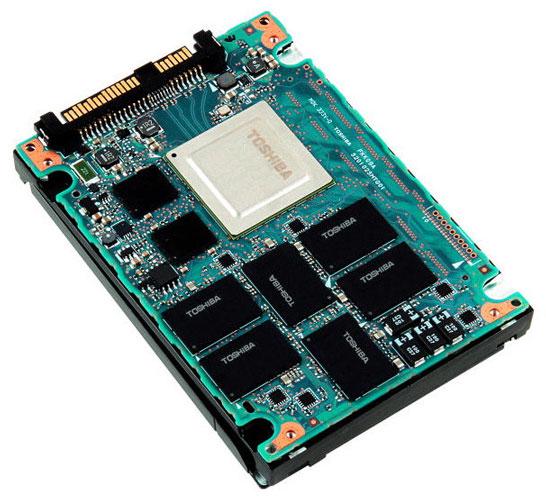 Серверные SSD компании Toshiba