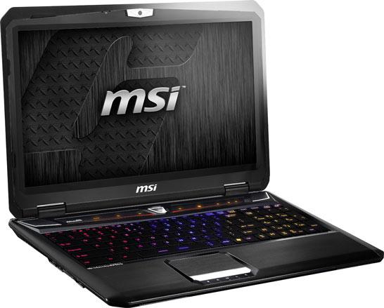 Игровой ноутбук компании MSI (GT60)