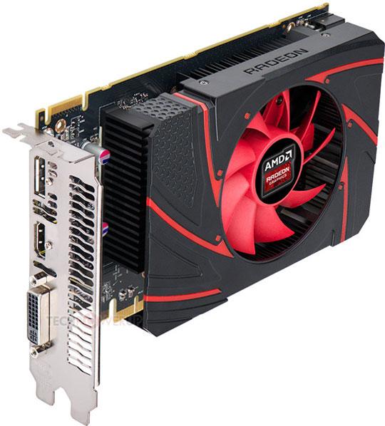 Эталонный дизайн видеокарты AMD Radeon R7 260