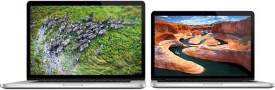 Apple MacBook Pro — первые ноутбуки с экранами повышенной плотности пикселей