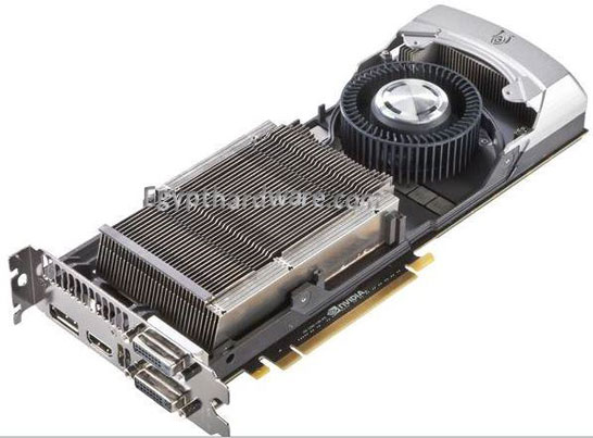 Система теплоотвода видеокарты NVIDIA GeForce GTX Titan