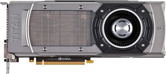 Внешний вид видеокарты NVIDIA GeForce GTX Titan