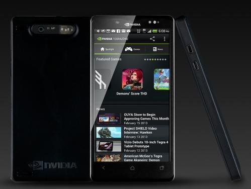 Эталонная платформа NVIDIA для смартфонов на базе Tegra 4i