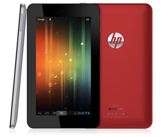 7-дюймовый планшет HP Slate 7 под управлением Android