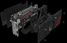 Конструкция видеокарты ROG ARES II