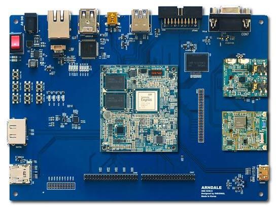Плата для разработчиков ПО под SoC-процессоры Samsung на ARM Cortex-A15