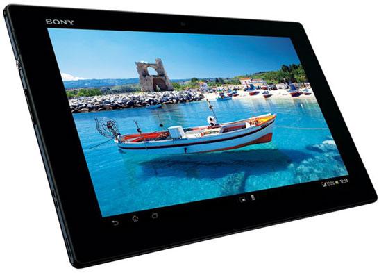 Самый тонкий в мире 10-дюймовый планшет Sony Xperia Tablet Z (6,9 мм толщиной)