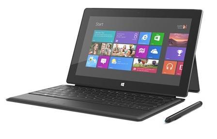 Планшет Microsoft Surface Windows 8 Pro с обложкой-клавиатурой