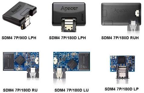 SSD SATA-модули Apacer для стоечных компьютеров