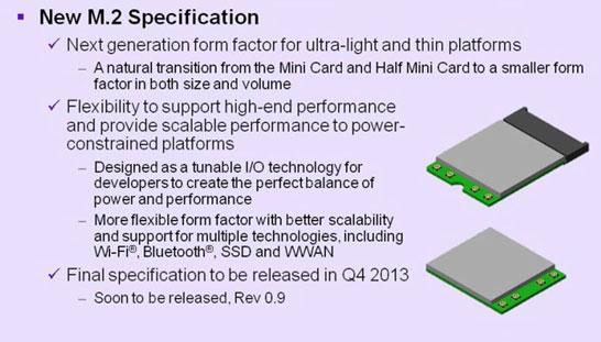 Коротко о формате PCIe M.2