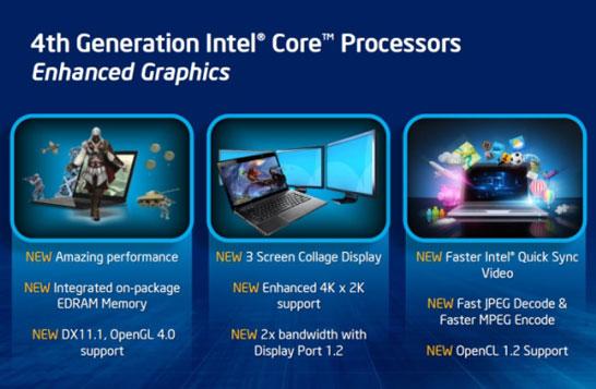 Отличная интегрированная графика Intel, если сравнивать... с прошлогодними процессорами AMD Trinity