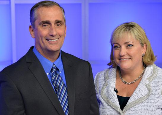 Новый директорат Intel: директор Брайан Кржанич и президент Рене Джеймс
