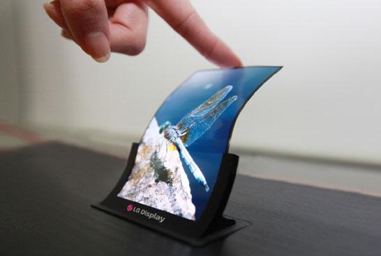 Гибкий 5-дюймовый OLED-экран разработки LG