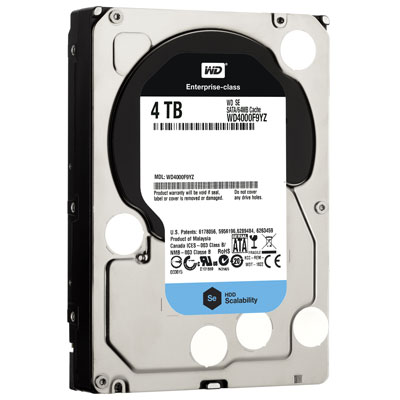 4-ТБ модель жёсткого диска WD Se