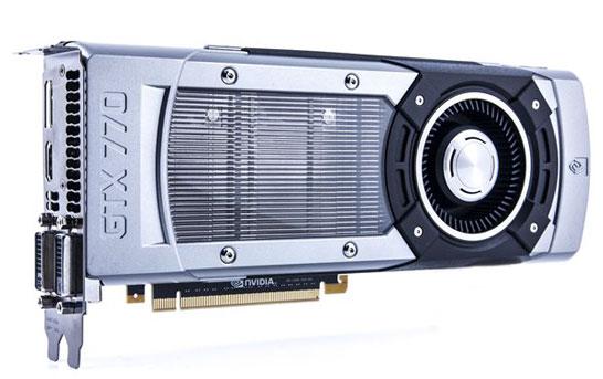 Игровой графический адаптер NVIDIA GeForce GTX 770
