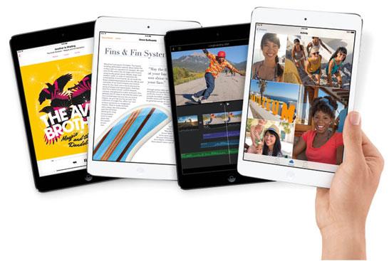Планшет Apple iPad mini с 7,9-дюймовым экраном
