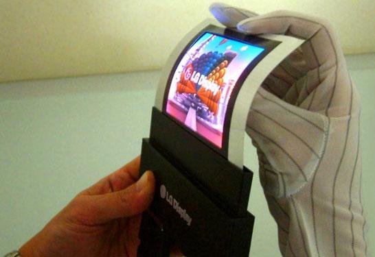 Гибкие дисплеи LG Display