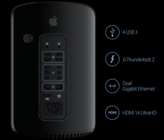 Рабочие станции Apple сочетают производительность с оригинальным дизайном