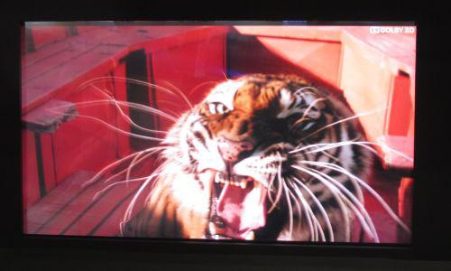Стереоскопический дисплей диагональю 85 дюймов для просмотра объёмного изображения без специальных очков
