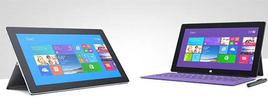 Новые планшеты Microsoft повторяют дизайн предыдущих моделей