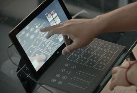 Вместо клавиатуры можно будет подключить пульт диджея