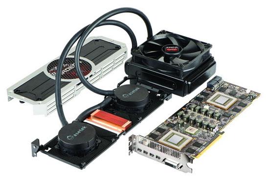 Система охлаждения видеокарты AMD Radeon R9 295X2