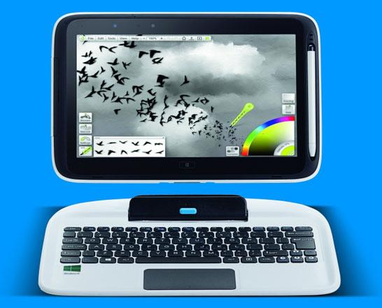 Гибридный ноутбук Intel Education 2 in 1