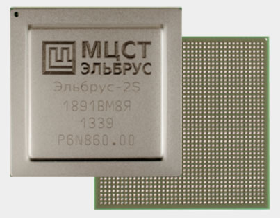 Четырёхъядерный процессор Эльбрус-4С