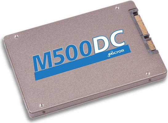 Линейка серверных SSD M500DC компании Micron