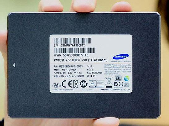 Серия серверных SSD Samsung на памяти NAND TLC