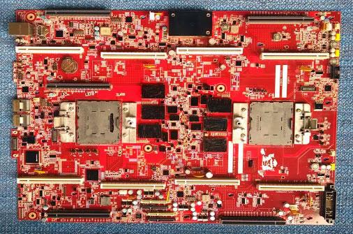 Серверная плата Google для процессоров IBM Power8 (возможно это плата компании Tyan)