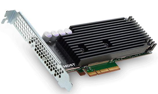 SSD компании HGST (Western Digital) с интерфейсом PCI Express 3.0