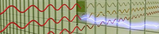 Вместо транзисторов — жидкокристаллический «пиксель». Сигнал — луч света.