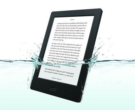 Устойчивая к погружению в воду электронная книга Kobo Aura H2O