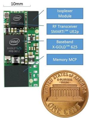 Модем компании Intel для подключения вещей к Интернет (с помощью сетей сотовой связи 3G)