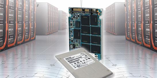 Компания Toshiba представляет новое семейство SSD корпоративного уровня