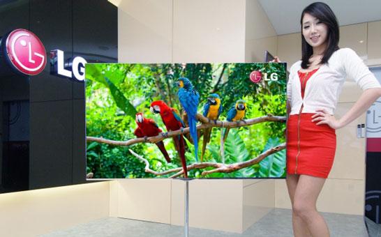 55-дюймовый телевизор LG на экране OLED