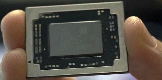 Фотография гибридного процессора AMD Carrizo
