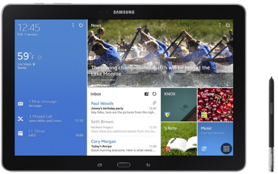12,2-дюймовый планшет Samsung Galaxy Note Pro 12.2