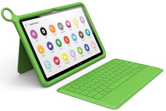 Американская версия планшета OLPC XO-10 с Bluetooth-клавиатурой