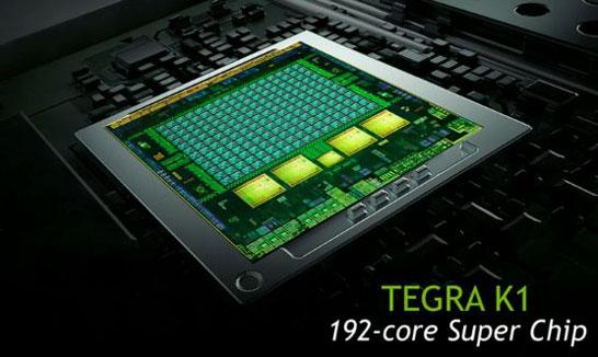 Схематическое изображение кристалла NVIDIA Tegra K1